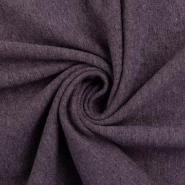 Baumwoll-Jersey meliert violett