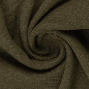Bündchen Melange khaki