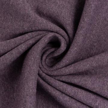 Bündchen Melange violett