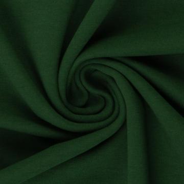 French Terry Uni dunkelgrün