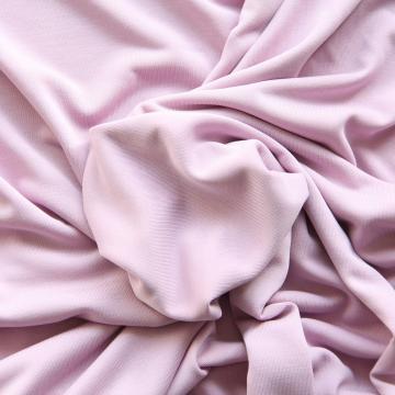 Modal-Mischgewebe Uni rosa